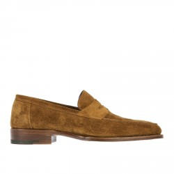 BROWN SUEDE LOAFER