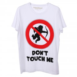 WHITE T SHIRT WITH CUPID PRINTED