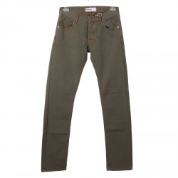 MILITARY GREEN JEANS