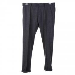 GREY MICRO FANTASY SLIM FIT PANTS