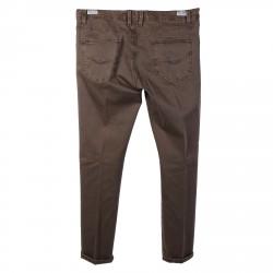 DARK BROWN LEMON PANTS