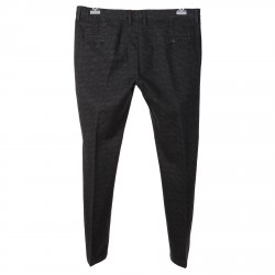 CHECKED SLIM FIT PANTS