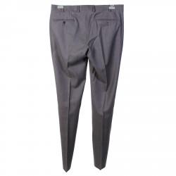GREY MERINO WOOL PANTS