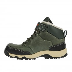 DARK GREEN HIGH SNEAKER