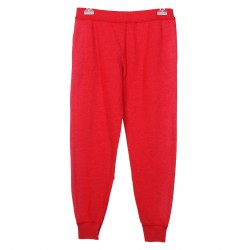 RED WASHED TRACKSUIT PANTS
