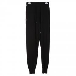 BLACK CASHMERE TRACKSUIT  PANTS