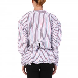 MULTICOLOR STRIPED AND STARS BLOUSE