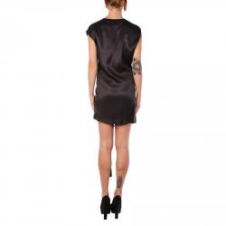 SLEEVELESS BLACK FANTASY DRESS