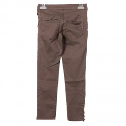 BROWN PANTS WITH SRASS LOGO