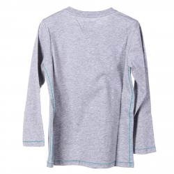 GREY LONG SLEEVES SWEATER