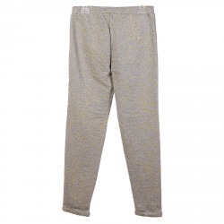 GREY TRACKSUIT WITH GOLD DECORATION