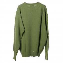 PULLOVER VERDE A COSTE