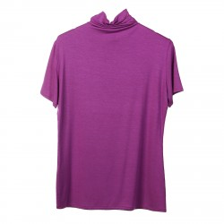 VIOLET SWEATER WITH SHORT SLEEVES