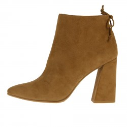 BEIGE SUEDE HUNKLE BOOT