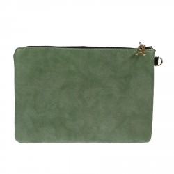 GREEN POCHETTE GRAFIC MODEL