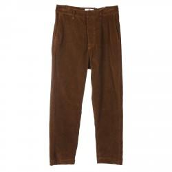 BROWN PANTS SCETTRO MODEL