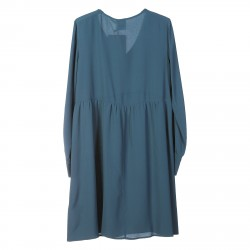 LIGHT BLUE DRESS CRUNA MODEL