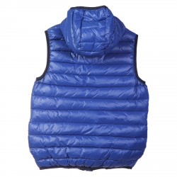 BLUE SLEEVEES PADDED JACKET WTH HOOD