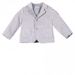 COTTON GRAY BLAZER