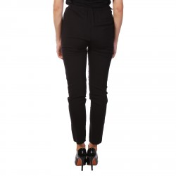 BLACK PANTS WITH REMOVABLE SUSPENDERS