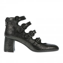 ROCK BLACK ANKLE BOOT