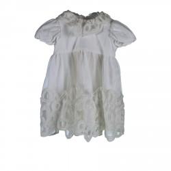 WHITE TULLE DRESS
