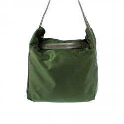 GREEN BAG WITH SHOULDER BAG