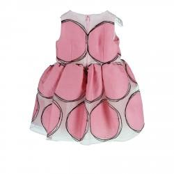 PINK TULLE SLEEVLESS DRESS