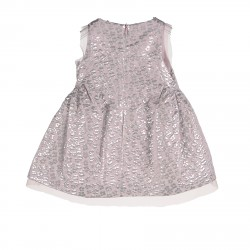 PINK DRESS WITH SILVER FLOWERS FANTASY
