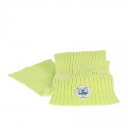 FLUORESCENT GREEN SCARF