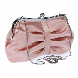 PINK POCHETTE WITH SHOULDER BELT
