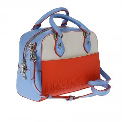 LEATHER BAULETTO BAG