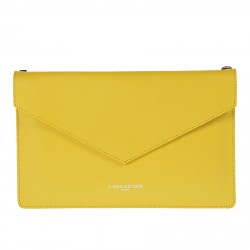 YELLOW POCHETTE WITH SHOULDER BELT