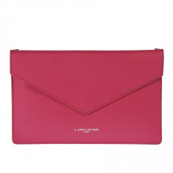 FUCSIA POCHETTE WITH SHOULDER BELT
