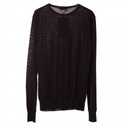 VIOLET SWEATER WITH ROUND NECK