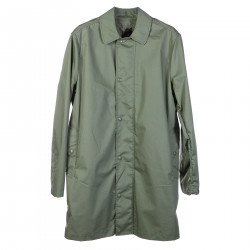 GREEN LONG TRENCH