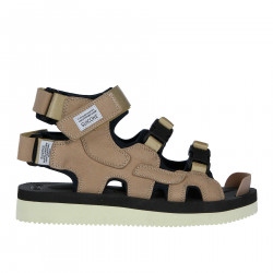 SUEDE TECHNICAL SANDAL