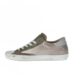 BICOLOR SNEAKER WITH SEQUINS