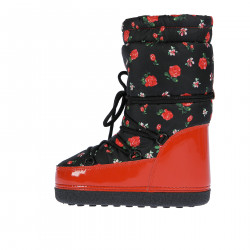 BLACK AND RED FANTASY MOON BOOT