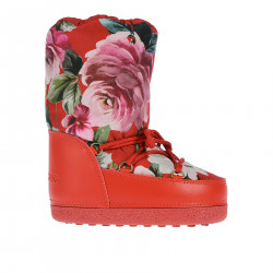 RED FANTASY MOON BOOT