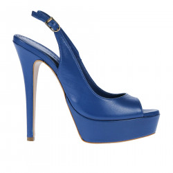 BLUE LEATHER CHANEL