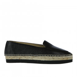 BLACK POINTED ESPADRILLAS