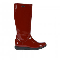 RED GLOSSY VARNISH BOOT