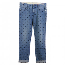STAR EMBROIDERY JEANS