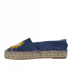 ESPADRILLAS BLU IN DENIM