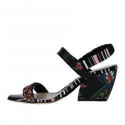 FANTASY SANDAL WITH SEQUINS