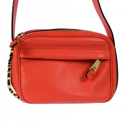 LEATHER RED SHOULDER BAG