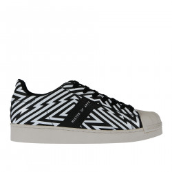 SNEAKER IN PELLE EFFETTO OPTICAL