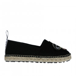 BLACK ESPADRILLAS WITH PATCHES