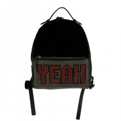 LEATHER BACKPACK WITH STUDS